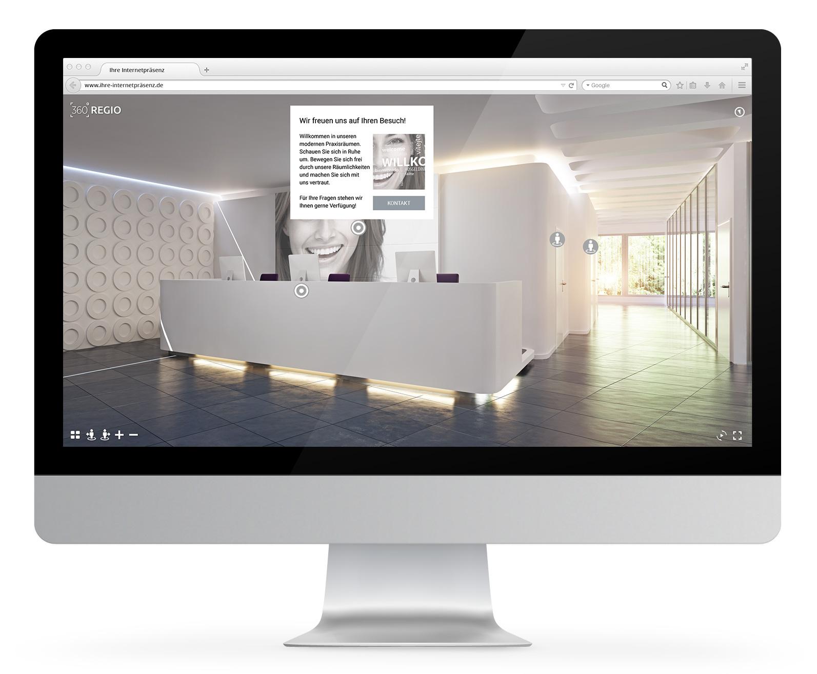 360º REGIO bietet eine neue Dimension an Funktionalität und Mehrwert browserbasierter Onlinerundgänge